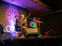Pelle Björnlerg & Anders Löfberg, at Anders's CD release