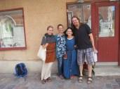 lunch meeting with Matilda, Elisabet, & Jonathan