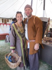 friendly folks in the marketplace. she wove the nice gooseeye twill of his jacket, and also all the bands on her gown.