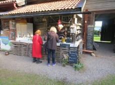 snack-y dinner at the Rättvik gammalgård