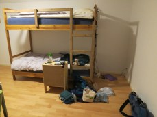 another 4-bed hostel room all to ourselves
