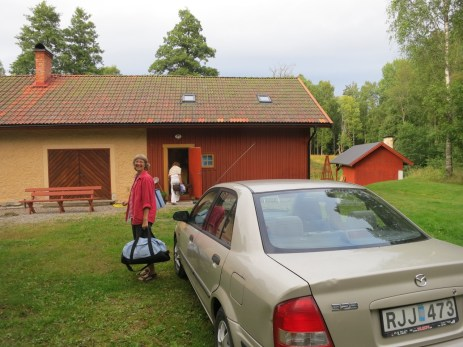 at Lena's friend Lena's country house