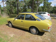 Plan A: i borrow Matilda's (father's) 1975 Corolla and commute from her hostel room to town.