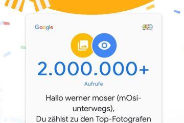 Google Mapps Februar 2020 - mosi-unterwegs