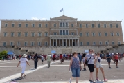 <h5>Syntagma Square</h5><p>The Greek Parliament. Most of the recent Greek drama was unfolded here.</p>