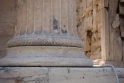 <h5>Erechtheion, back side</h5><p>Column detail.</p>