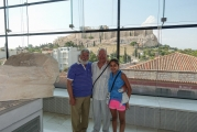 <h5>Akropolis Museum</h5><p>Last floor, dedicated to the Parthenon. Outside the window the actual monument on the Rock.</p>