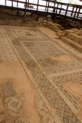 <h5>Floor mosaic.</h5>