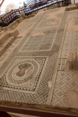 <h5>Floor mosaics. Nowadays, we only choose carpets...</h5>