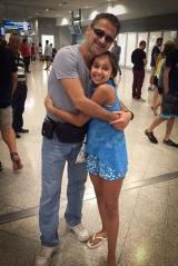 <h5>Reuniting with Paress</h5><p>Athens International Airport</p>