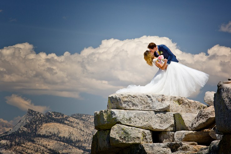 Brian Rueb Half Dome Yosemite Wedding 1