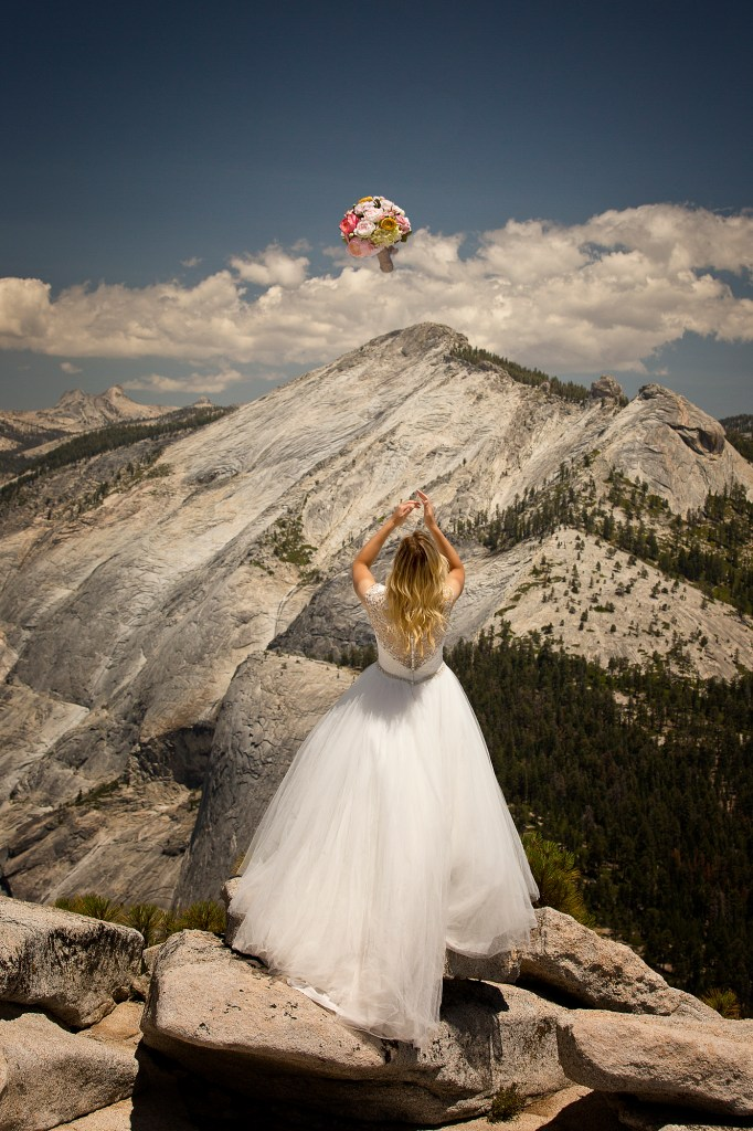 Brian Rueb Half Dome Yosemite Wedding 3