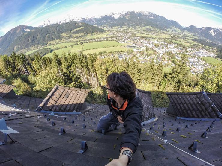 Austria Dangerous Selfie Ben Von Wong