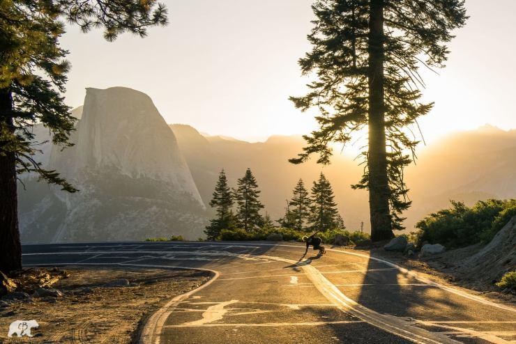 Chris Burkard Yosemite Glacier Point Half Dome Skateboard