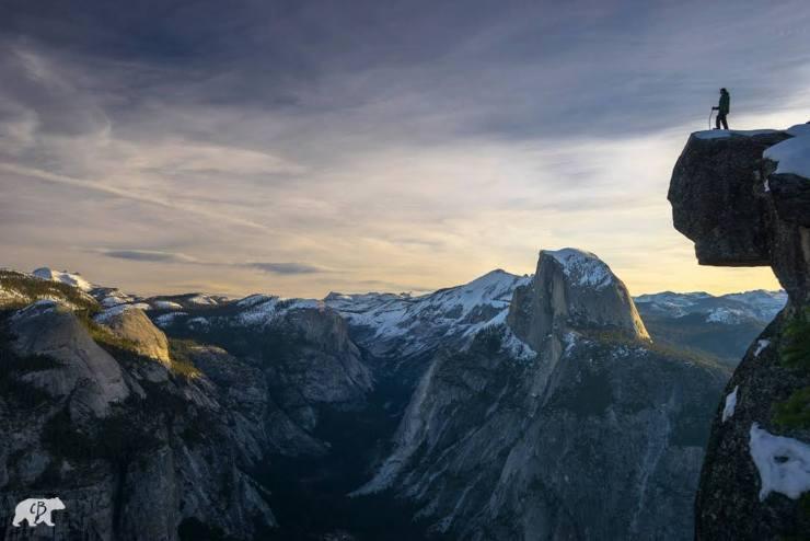 Chris Burkard Yosemite Glacier Point
