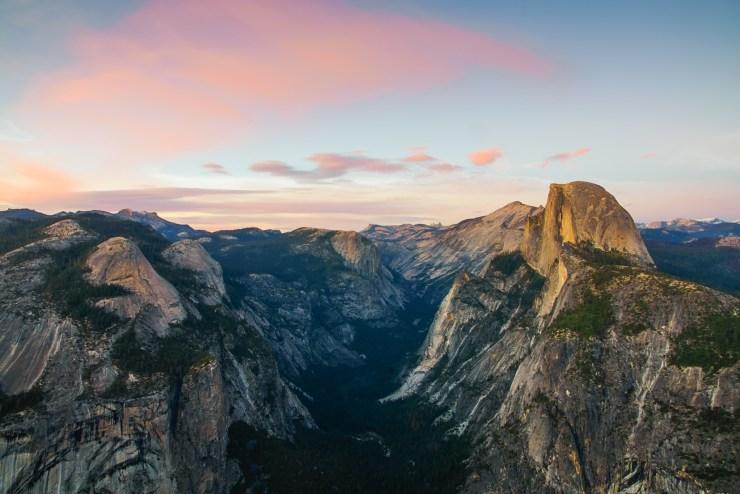 Glacier Point Half Dome Yosemite Michael Bonocore
