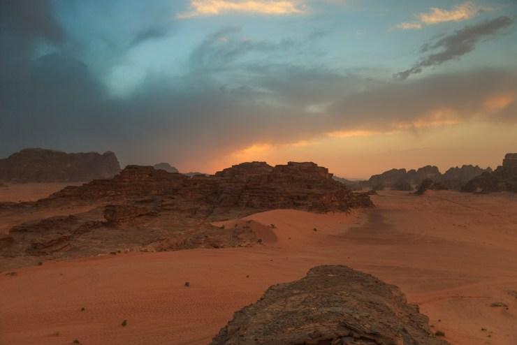 Wadi Rum Jordan Sunset Michael Bonocore