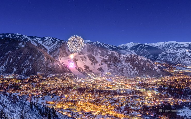 Aspen Colorado New Years 2015 photo by Toby Harriman.