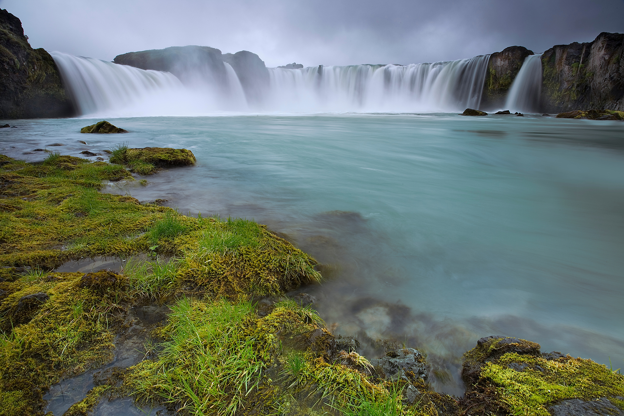 Godafoss Rueb Iceland Book on No One Cares About Crazy People