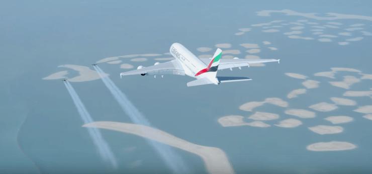 Jetmam Emirates Dubai Airbus A380 7