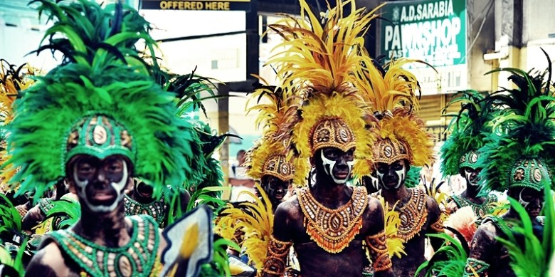 The 'Dinagyang Festival' is celebrated in Iloilo City every January © Nomadic Experiences