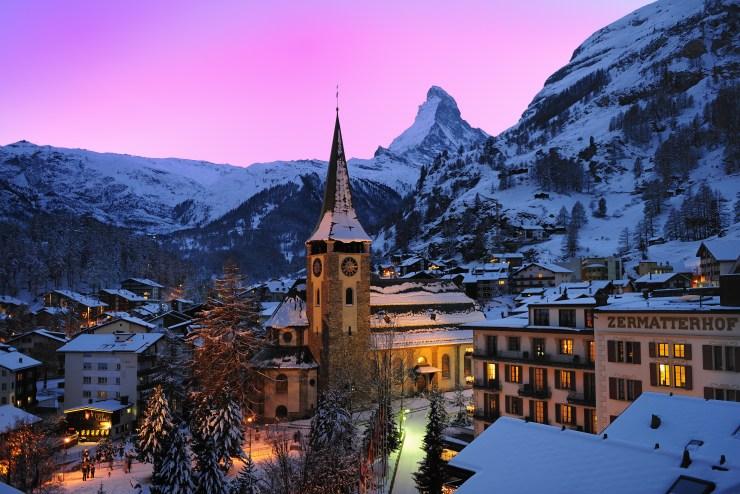 Switzerland Sustainability Zermatt