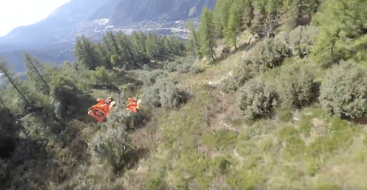Vince Reffet French Alps Wingsuit Flying 6
