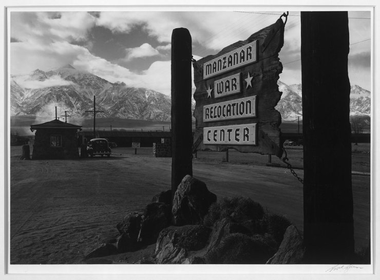 Ansel Adams Japanese Internment Camp 3