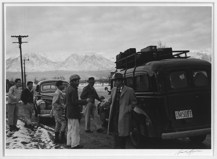 Ansel Adams Japanese Internment Camp 5