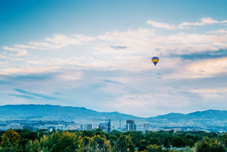 Boise Idaho Balloon 1