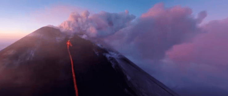 National Geographic 360 Video Klyuchevskoy Volcano Russia 8