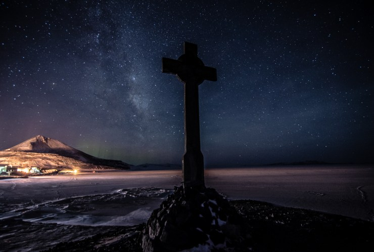 Vinces Cross Antarctica