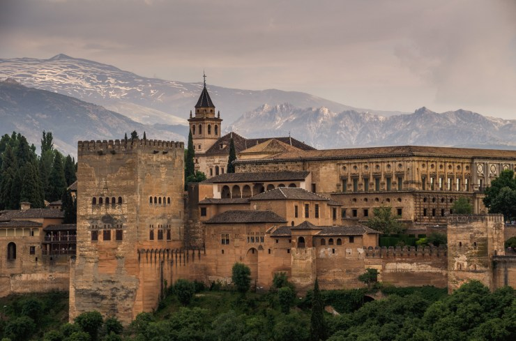 Alhambra, Granada, province of Granada, Andalusia, Spain, Europe