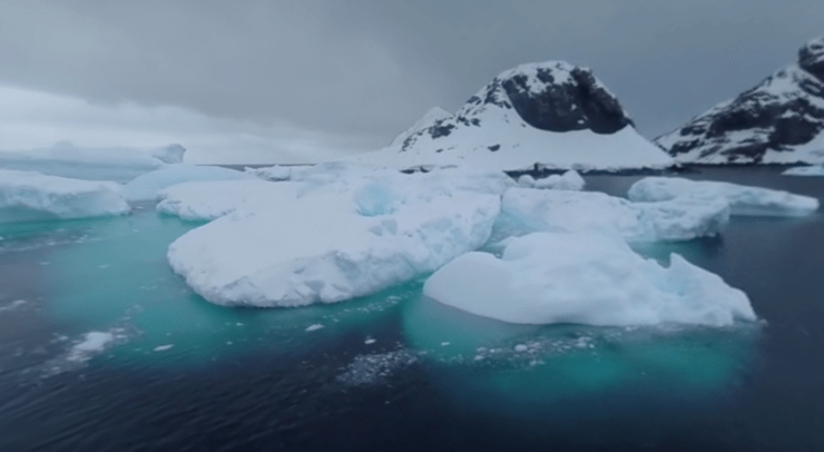National Geographic 360 video Antarctica 8