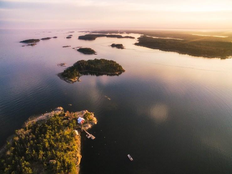 Finland Drone near Espoo by Michael Matti