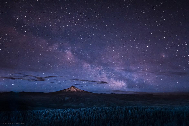 Milky Way-Mt.-Hood