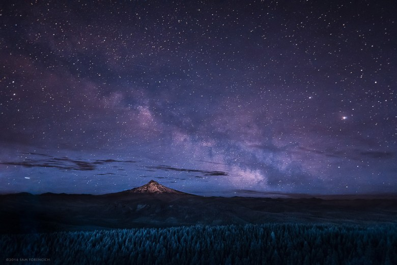 Milky Way-Mt.-Hood