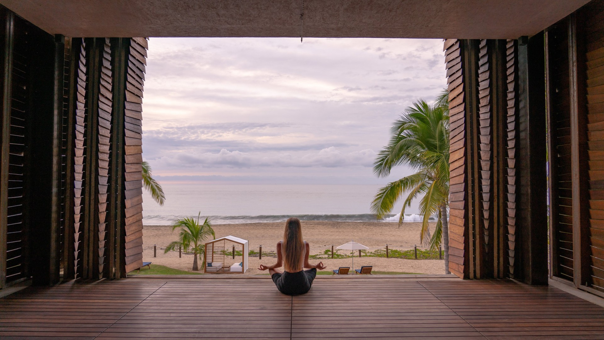 Learning How To Relax in Punta de Mita, Mexico