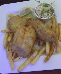 fresh premiun fish chips