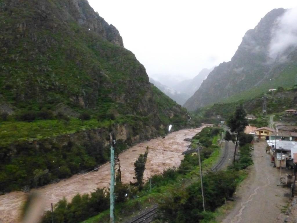 The start of el Camino Inca