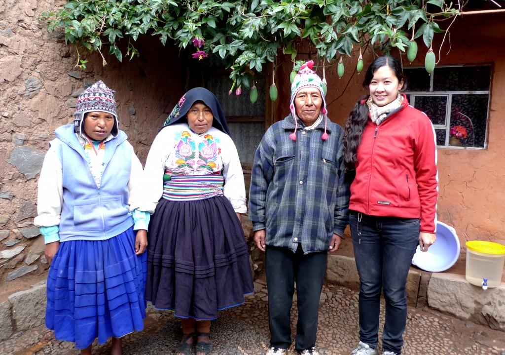 Ernesto, Juana, Hilda and I