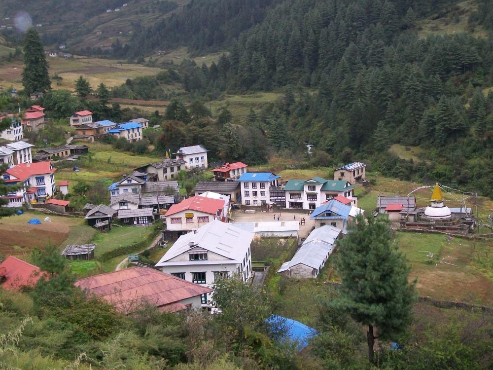 Junbesi Nepal Monastery and Hoopoe Photos (4/6)