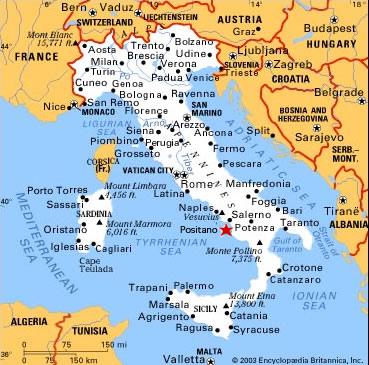 Travel Maps of Venezia Venice and Italy