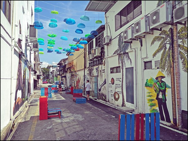 Butterworth Street Art Alley Walk Perspective Of