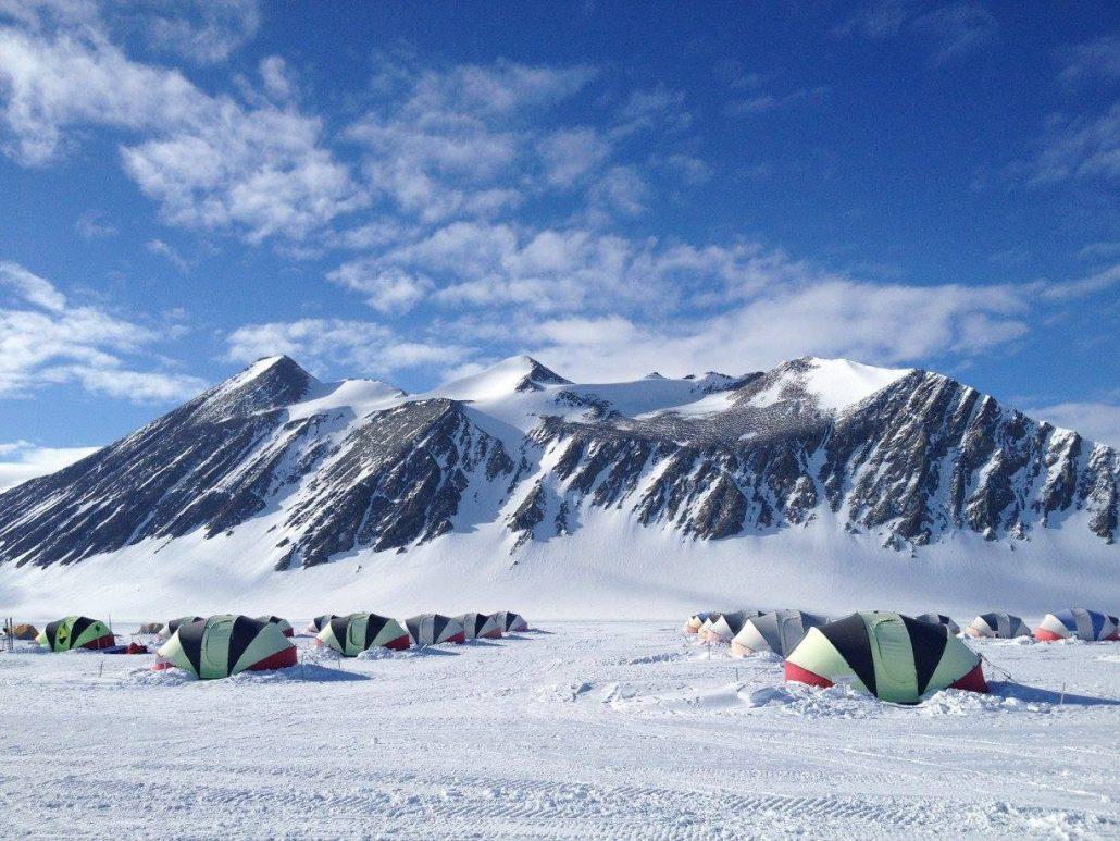 "Image result for UNESCO tent in Antarctica pictures"""