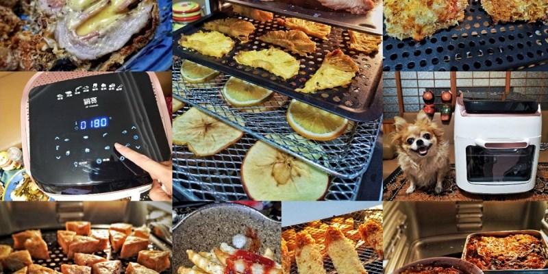【氣炸烤箱食譜】鍋寶氣炸烤箱12L 烤全雞+果乾+肉乾+麵包蛋糕+燒烤