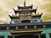 Namdroling Monastery at Bylakuppe