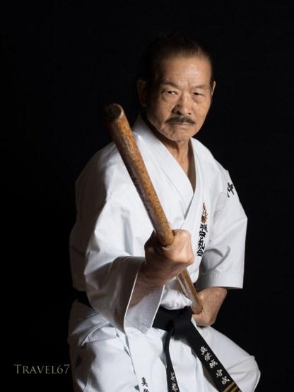 Maeshiro Shusei 10th-dan Uechi-ryu Karate 10th-dan Ryukyu Kobudo