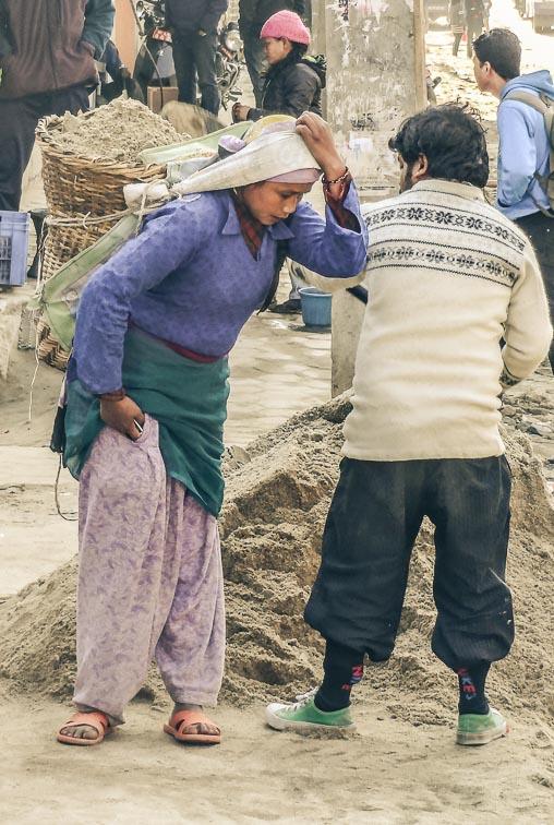 Faces of Nepal. The beautiful people of Kathmandu