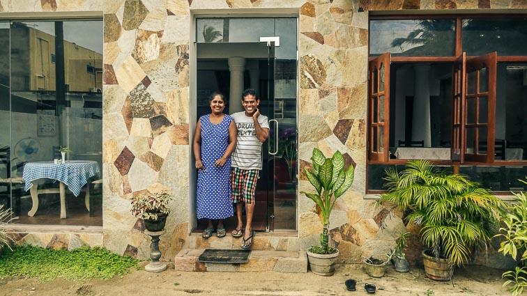Negmbo, Sri Lanka. Rani Inn Guesthouse
